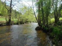 La rivière Semène et ses pêcheurs