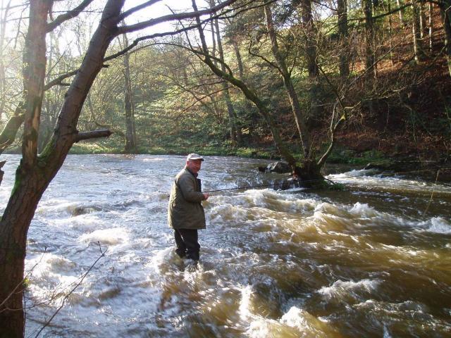 Marc et la joie de la pêche